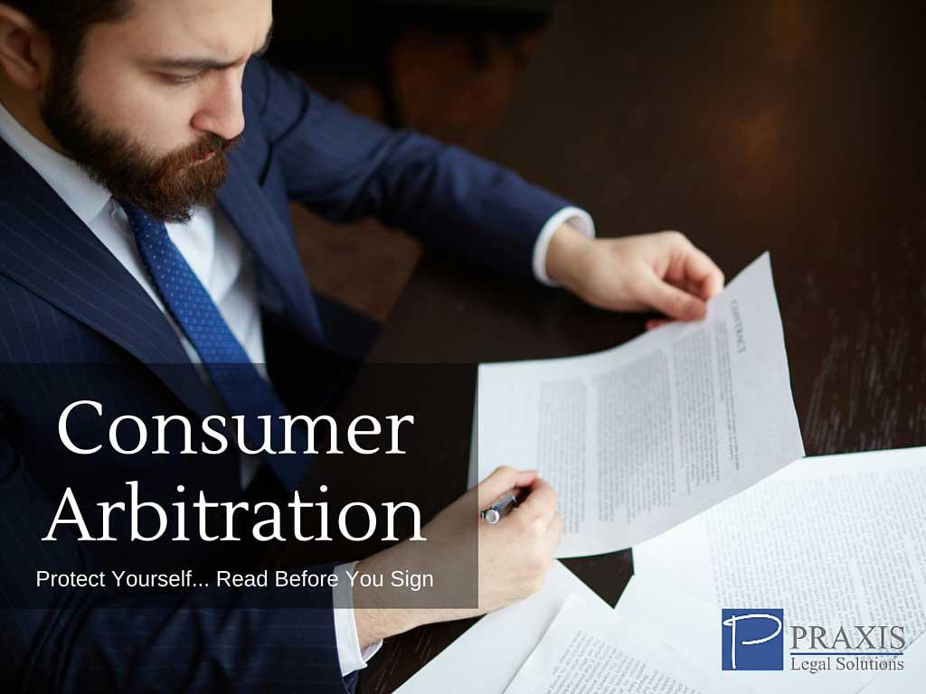 Consumer Arbitration - Ocean County, NJ